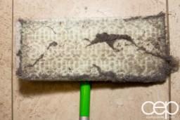 Swiffer Man Clean — Swiffer Sweeper — Post-Clean