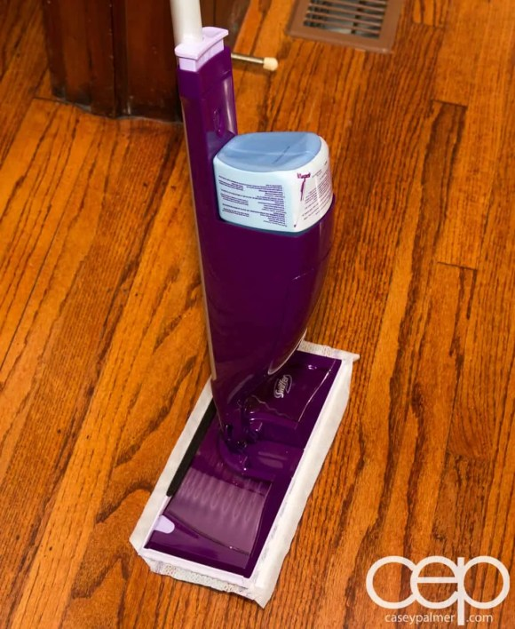 Swiffer Man Clean — Swiffer WetJet — Ready for Action!