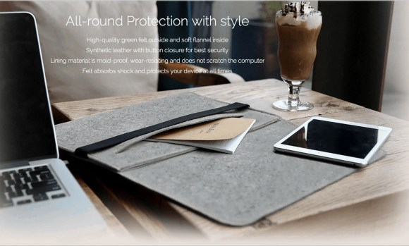 """Inateck MP1503 Case for 15"""" MacBook Pro — Stylishness of the MP1503"""