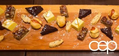 #CIASGM GM Canada President's Dinner — Montecito — dessert platter