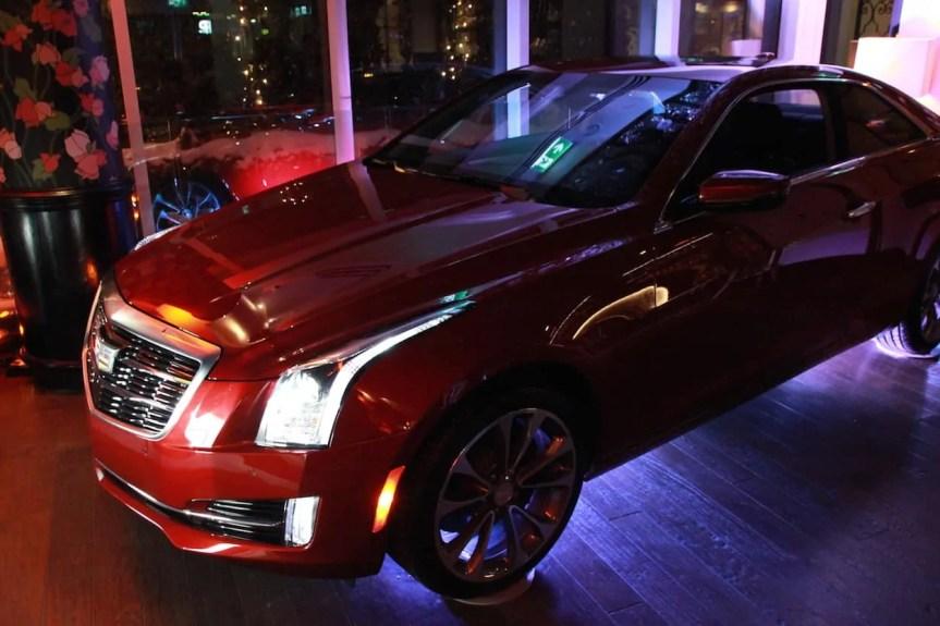Canadian International Auto Show (CIAS) 2015 — General Motors Canada President's Dinner @ Montecito — 2015 Cadillac ATS