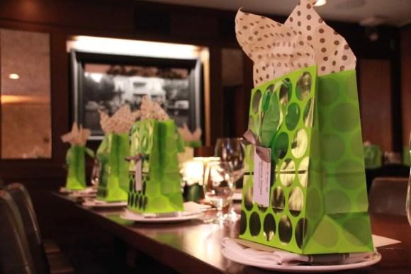 Canadian International Auto Show (CIAS) 2015 — General Motors Canada President's Dinner @ Montecito — Gift Bags