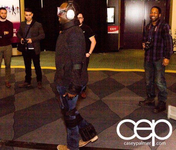 #FordCIAS — 2015 Canadian International Auto Show — Casey Palmer with Beer Goggles and Weights On