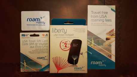 Casey Palmer x Swiffer Present — 36 Hours in NYC — Roam Mobility — Boxed Roam Liberty and SIM Card