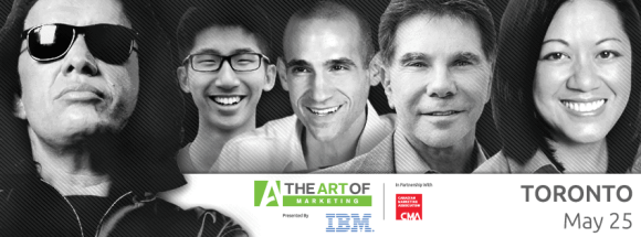 The Art of Marketing Toronto 2015—or—My Investment in Building a Better Me—Facebook Banner (Gene Simmons, Brian Wong, Nir Eyal, Robert Cialdini, Charlene Li)