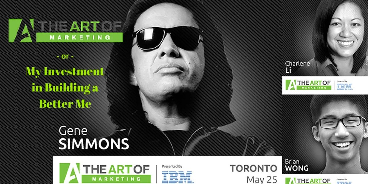 The Art of Marketing Toronto 2015 - or - My Investment in Building a Better Me