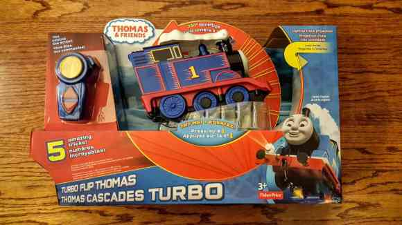 A Week in the Life... September 27th—October 3rd, 2015—Thomas and Friends—Turbo Flip Thomas