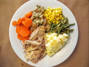 The Week That Was... October 11-17, 2015 — Thanksgiving Sunday — Thanksgiving Dinner at my In-Laws'