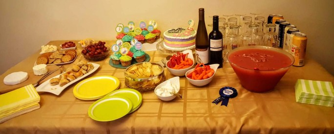 The Week That Was... November 1st - 7th, 2015 — Little Man's Second Birthday — The Birthday Snack Spread