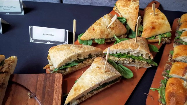 The Week That Was... October 25th - 31st, 2015 — Axon by ZTE Event — The Story Bar — Grilled Chicken Sandwiches