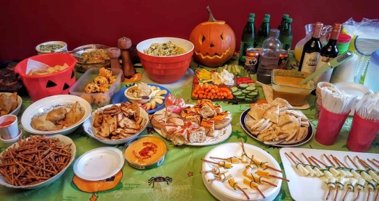 The Week That Was... October 25th - 31st, 2015 — Chambers' Halloween Party — A Delicious Spread