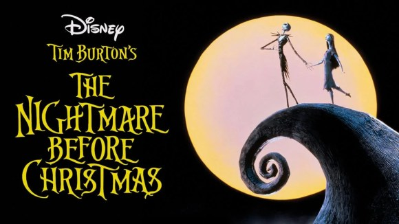 The cover image for Tim Burton's The Nightmare Before Christmas