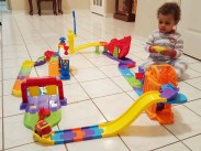 The Month That Was... November 22nd - December 26th, 2015 — A Mississauga Palmer Christmas — Little Man Playing with His VTech Go! Go! Smart Wheels Ultimate RC Speedway