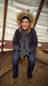The Month That Was... November 22nd - December 26th, 2015 — Evergreen Winter Village — Sarah in the Teepee