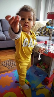 The Week That Was... December 27th, 2015 - January 2nd, 2016 — Little Man at His Play Date