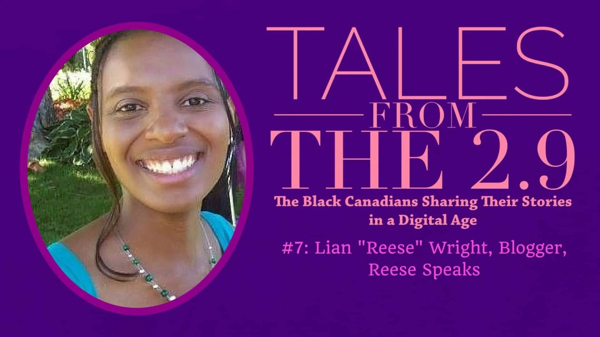Tales from the 2.9 — #7- Lian 'Reese' Wright