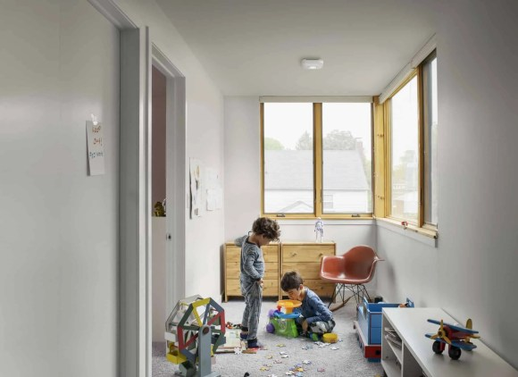 Building a Smarter Home with TELUS, Part One—The Things You Detect with a Nest Protect—Nest Protect Lifestyle Shot Kids at Play