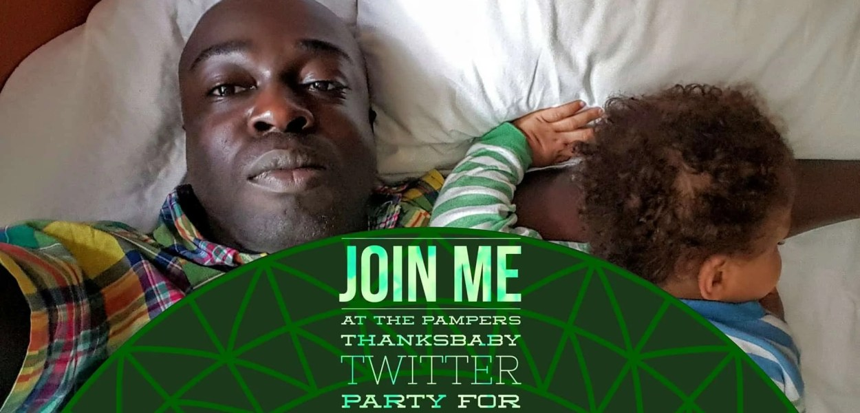 Join Me at the Pampers #ThanksBaby Twitter Party for Father's Day! (Featured Image)