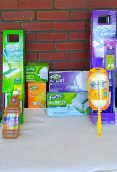 Tabula Rasa — How Swiffer & Mr. Clean Help Movers Make Clean Slates from their New Homes! — The Swiffer and Mr. Clean Products