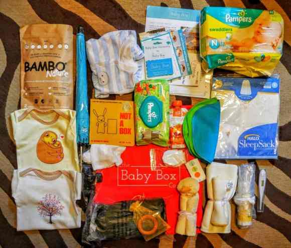 What's in a Box? — How the Baby Box Company Starts Parenthood Off RIGHT. — Baby Box Contents