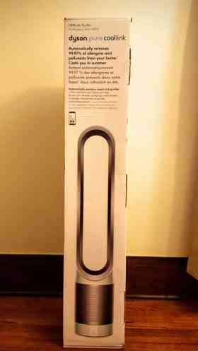The Dyson Pure Cool Link — Making it WAY More Convenient to Chill — Product in Box