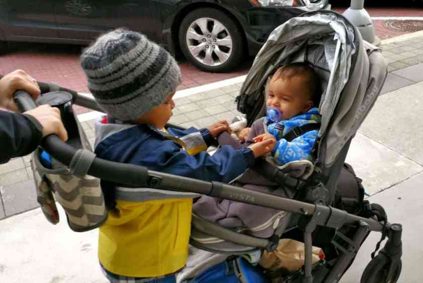 An Aroma Kidz Adventure — Why I Can't Take My Kidz ANYWHERE. — The Palmer Boys in a Stroll at the Shops at Don Mills