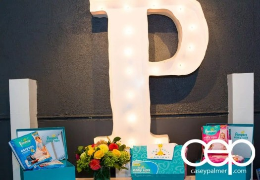 Level Ups with Pampers Easy Ups — Getting Aware of the Better Way to Underwear! — Pampers Easy Ups Presentation Table