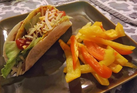 Old El Paso Let's Taco 'Bout It, Chapter Three — Double the Delicious with Double Layer Tacos! — Double Layer Tacos and Peppers