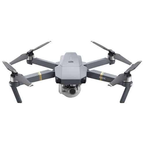 The Best Buy He-Shed — Where Tech and Design Can BOTH Call HOME — DJI MAVIC Foldable Quadcopter Drone with 4K UHD Camera & Controller