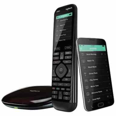 The Best Buy He-Shed — Where Tech and Design Can BOTH Call HOME — Logitech Harmony Elite Remote