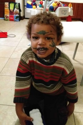 #stopCOMPAREnting—How Parents Keep it Real with Quaker Canada—Little Palmer and his War Paint