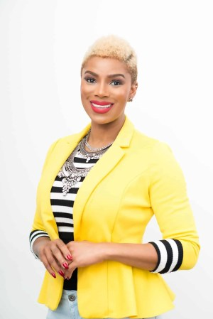 Tales from the 2.9 — The Black Canadians Sharing their Stories in a Digital Age — Vol. 2 #13, Karlyn Percil, Elephant Storyteller, Success Coach & Lifestyle Speaker — Karlyn Portrait Photo