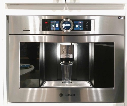 Checking out the Best Buy Smart Home at the National Home Show!—BOSCH Coffee Maker