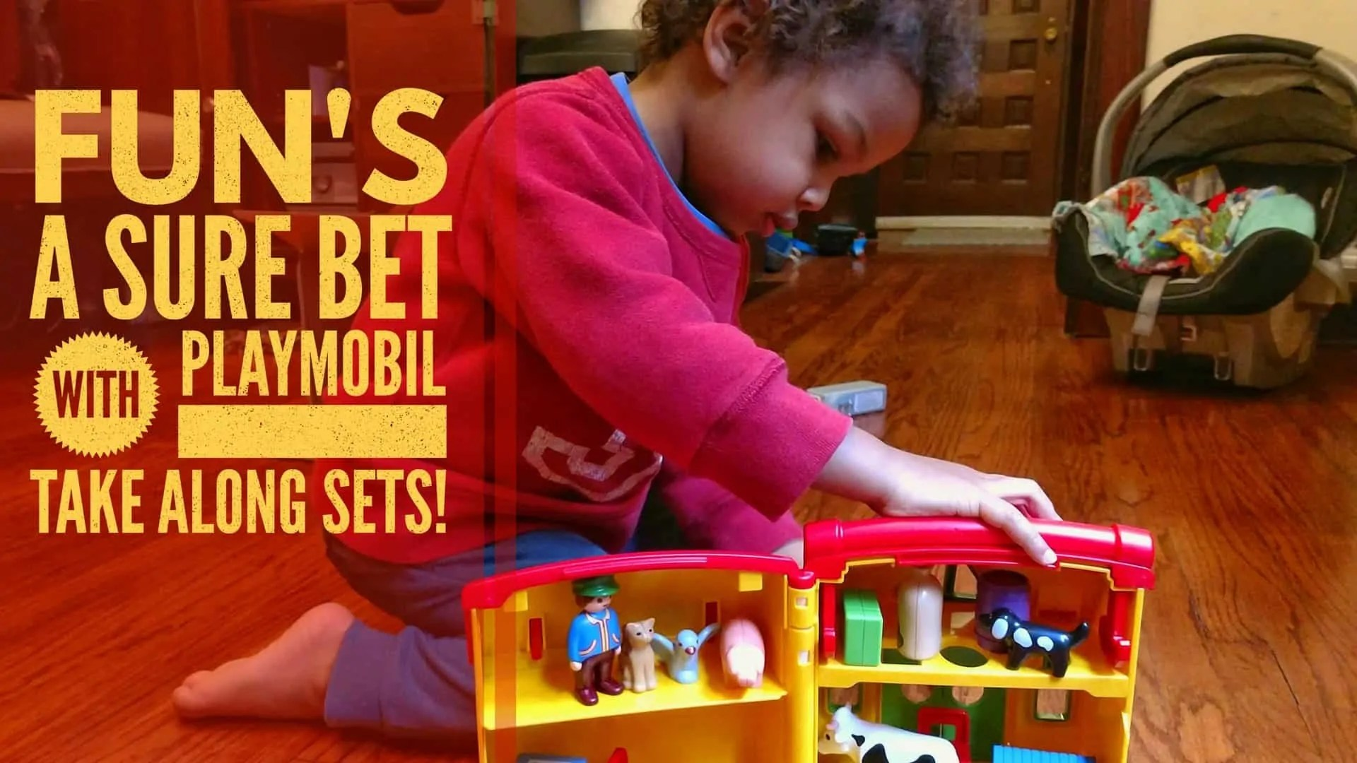 Fun's a Sure Bet with PLAYMOBIL Take Along Sets! (Featured Image)