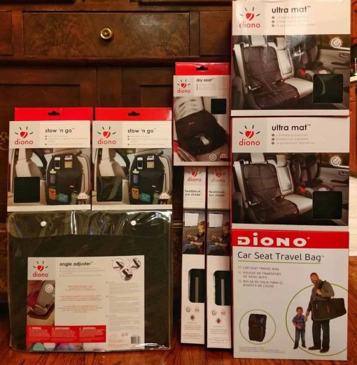 Put Your Car Seat Woes at Ease with the diono radian rXT! — diono stow 'n' go, dry seat, angle adjuster, heatblock sun shade, ultra mat, car seat travel bag