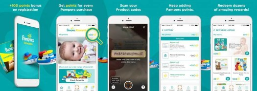 Earn Points with Less Taps — The BRAND NEW Pampers Rewards App! — How to Use the Pampers Rewards App