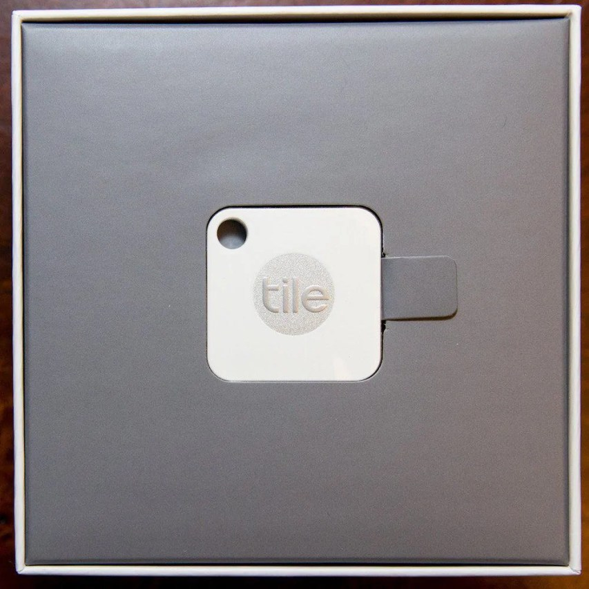 Happy Father's Day from Tile — May You Never Lose Your Possessions Again! — Tile Mate Box Top Layer