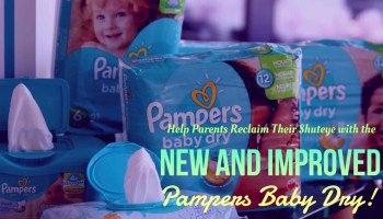 Help Parents Reclaim Their Shuteye with the New and Improved Pampers Baby Dry! (Featured Image)