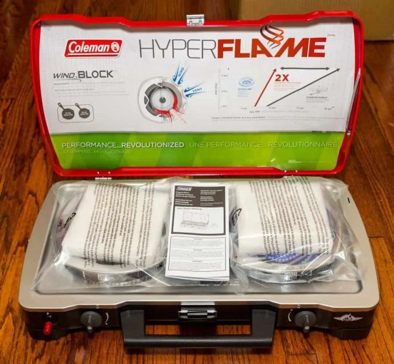 Better Camping with Coleman — The ONLY Way To Do It! — Coleman HyperFlame FyreCadet Camping Stove — Unboxing