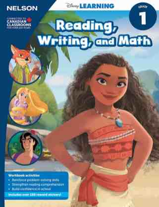 Keep Those Young Minds Yearning with NELSON Disney Learning! — Grade 1 Reading, Writing and Math