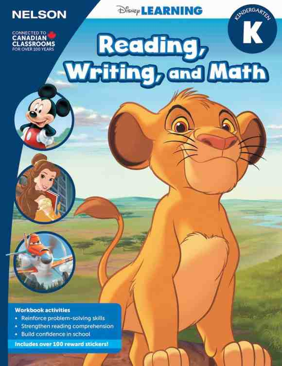 Keep Those Young Minds Yearning with NELSON Disney Learning! — Kindergarten — Reading, Writing and Math