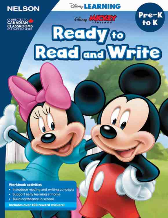 Keep Those Young Minds Yearning with NELSON Disney Learning! — Pre-K to K, Ready to Read and Write