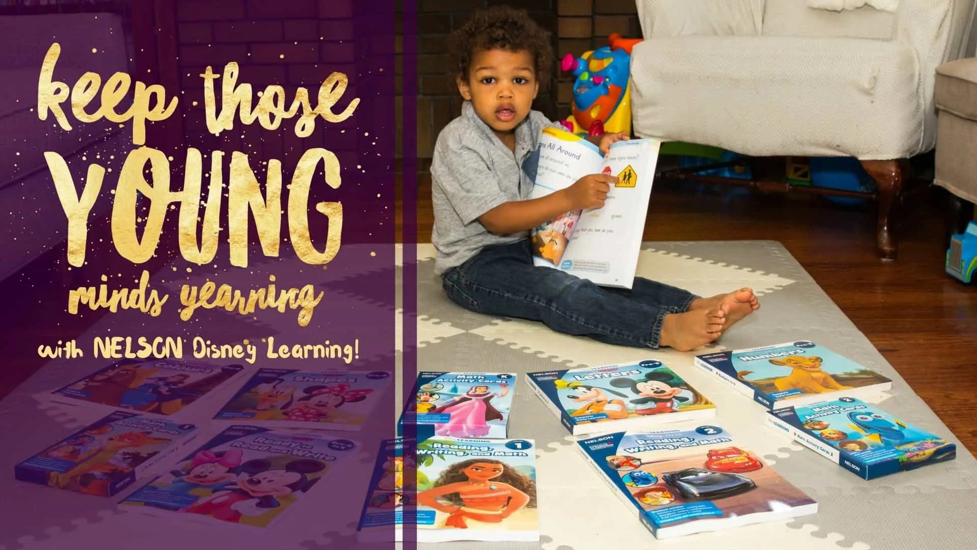 Keep Those Young Minds Yearning with NELSON Disney Learning! (Featured Image)
