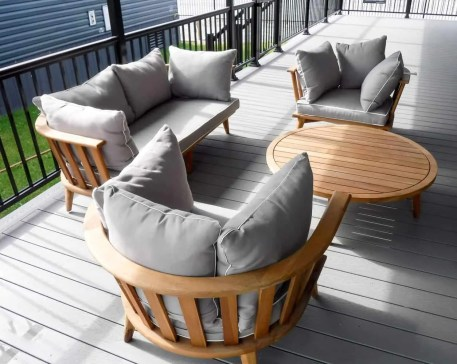 Make Vacay Matter More with Stays at Sherkston Shores! — Premium Rental Cottage Deck