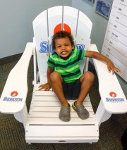 Make Vacay Matter More with Stays at Sherkston Shores! — Preschooler on the Sherkston Shores Chair