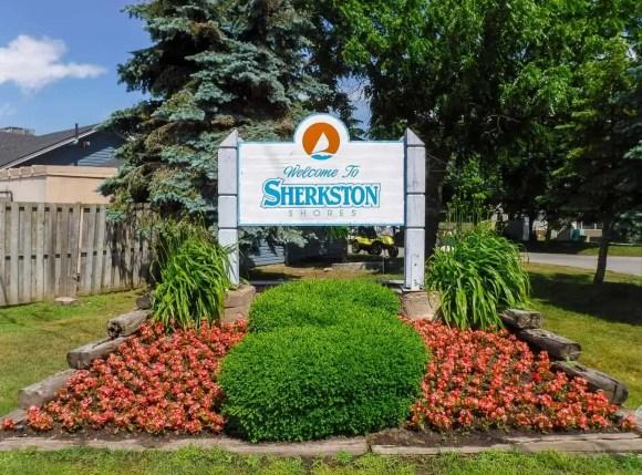 Make Vacay Matter More with Stays at Sherkston Shores!—The Sherkston Shores Sign