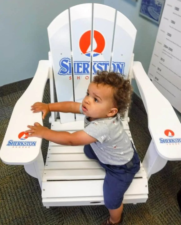 Make Vacay Matter More with Stays at Sherkston Shores! — Toddler on the Sherkston Shores Chair