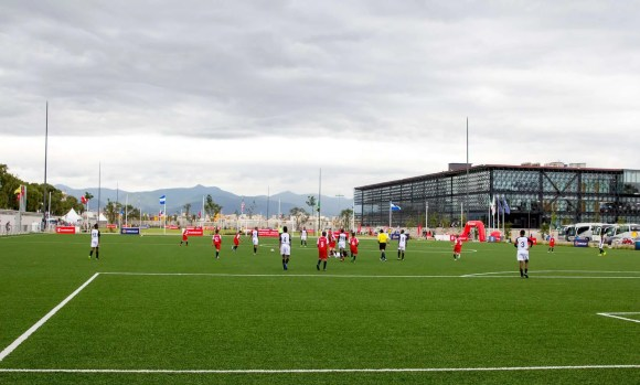 The FEMEXFUT (Federación Mexicana de Fútbol Asociación, A.C.) Fields in Toluca, Mexico for the 2017 Scotiabank CONCACAF Champions League Under-13 Fútbol Tournament