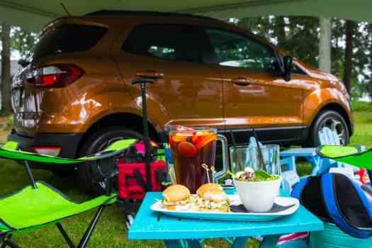 It's a Ford. #FordSummer. (Checking out the Ford Canada SUV Line in Muskoka!)—Sherwood Inn—The Ford EcoSport