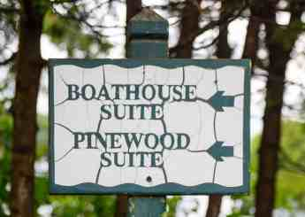 It's a Ford. #FordSummer. (Checking out the Ford Canada SUV Line in Muskoka!) — Sherwood Inn — The Sign to the Pinewood Suite